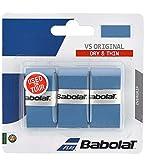 Babolat VS Grip Lot de 3 surgrips Bleu Taille Unique