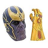 MIMINUO Máscara de Cosplay de Avengers Infinity War con Accesorios de Fiesta de Disfraces de Guante ...