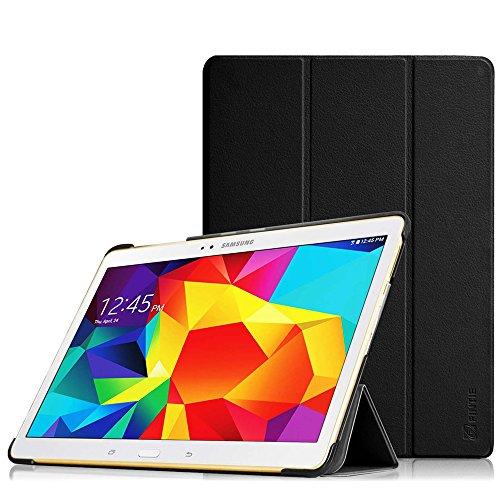Fintie Hülle für Samsung Galaxy Tab S 10.5 T800 T805 (10,5 Zoll) Tablet-PC - Ultra Schlank superleicht Ständer SlimShell Cover Schutzhülle Etui Tasche mit Auto Schlaf/Wach Funktion, Schwarz