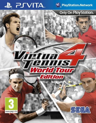 [UK-Import]Virtua Tennis 4 World Tour Edition Game PS Vita