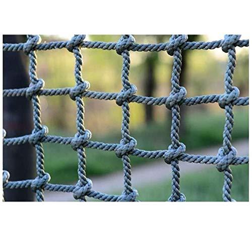 ZGQSW Outdoor Kletternetz, Kinderspielzeug Kletternetz Trainingsnetz, Sicherheitsseil Treppe Anti-Fall-Netz, Spielplatz Schutznetz Kindergarten-Expansionsnetz 1x5m (Size : 1 * 8m(3 * 26ft))