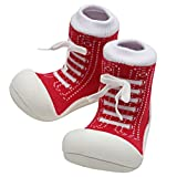 Attipas Best First Walker Shoes Baby Cotton Socks Shoes Non Toxic Safe Great Baby Registry Gifts (US Toddler 5.5,...