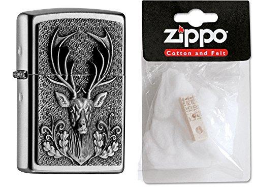 Zippo 15486 diseño Escudo Plus reemplazo mechero