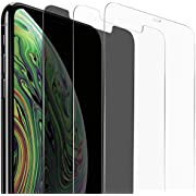 Vicious Teknology Tempered Glass Screen Protector for iPhone Xs Max 6.5 Inch, Ultra Slim Clear HD Tempered Glass Screen Protector Anti-Scratch 6D Curved Edge Touch Accurate [2 Pack]