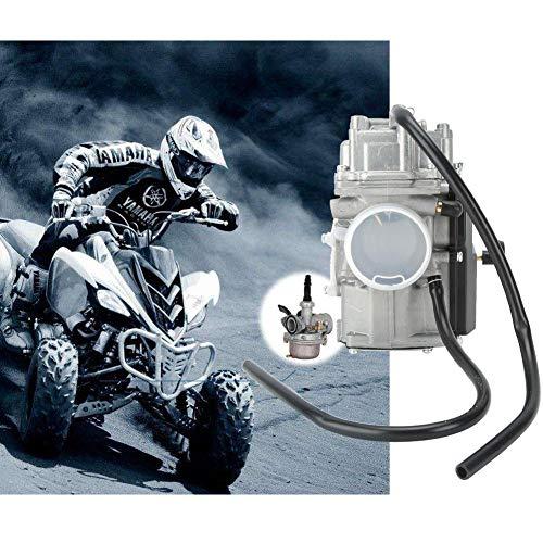 AUNMAS carburateur vervanging gas auto brandstofleiding industrie cart accessoires afdichtingskit geschikt voor Yamaha Kodiak 400 YFM 400 1993-1998