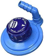 MONFA 8140150 Grifo Regulador Giratorio M16 (Botella Azul), Unisex