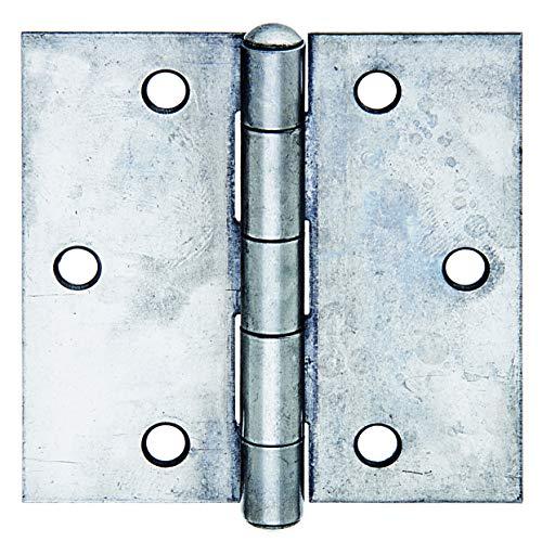 GAH-Alberts 361273 Scharnier | quadratisch | Edelstahl | 82 x 82 mm