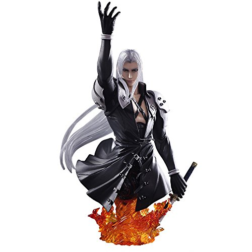 Square Enix Fantasy VII Static Arts Bust - Sephiroth Abysse Corp_BUSSQX003 20 cm Mehrfarbig