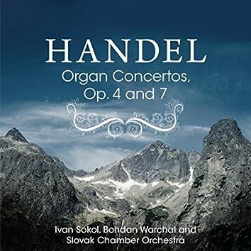 Handel: Organ Concertos, Op. 4 and 7