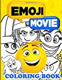 Emoji Movie Coloring Book: Awesome Emoji Movie Adult Coloring Books For Women And Men Relaxation And Stress Relief