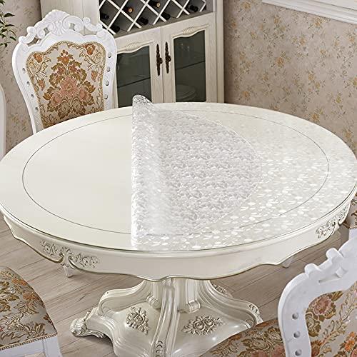 sans_marque Mantel de mesa, mantel de mesa, puede limpiar el borde de la decoración de la mesa, utilizado para mesa de comedor de cocina de 100 cm