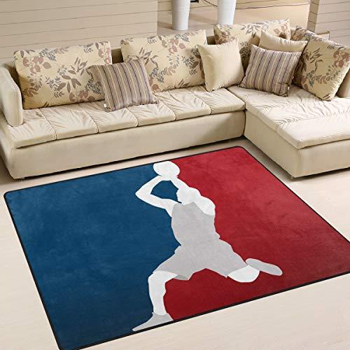 Use7 Teppich für Wohnzimmer und Schlafzimmer, 203 x 147,3 cm
