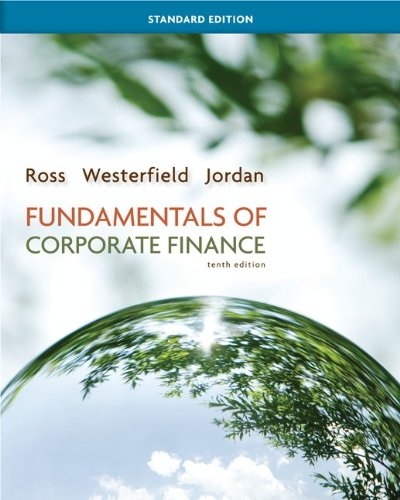 Fundamentals of Corporate Finance Standard Edition with Connect Access Card (Mcgraw-hill/Irwin Series in Finance, Insura