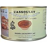 Cassoulet de Castelnaudary au confit de Canard 4 parts 1580 g Escourrou