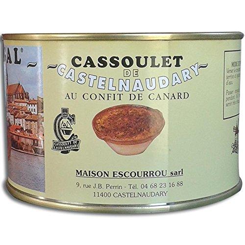 cassoulet de Castelnaudary 18% de confettura de pato escourrou