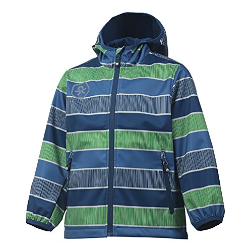 Color Kids. Tadimir, Softshell-Jacket Junior Air-Flo 8000, Jeans Blue, 98