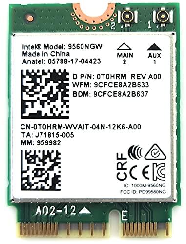 Intel Wireless-AC 9560, M.2 2230, 2X2 Ac+Bt, Gigabit, No Vpro (9560.NGWG.NV)