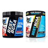 BPI Sports Muscle Recovery & Weight Loss Branched Chain Amino Acid Stack - Best BCAA (30 Servings) and Best BCAA Shredded (25 Servings) (Watermelon Ice)