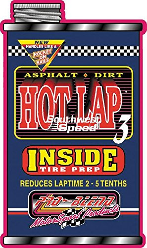 NEW PRO-BLEND KARTING TIRE SOFTENER, GO KART INSIDE TIRE TREATMENT, HOT LAP 3.