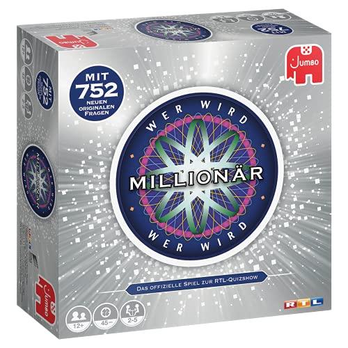 Jumbo Spiele Wer wird Millionär - die Jubiläumsauflage der berühmten TV-Show als Brettspiel - Gesellschaftsspiel für 2-5 Spieler ab 12 Jahren