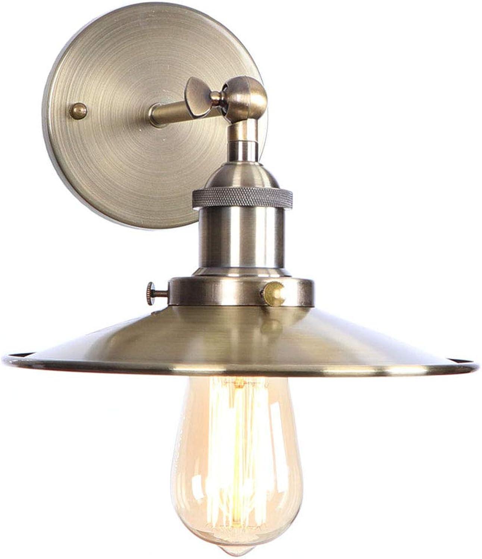 WVUSGDTT Wandleuchte, drehbar, LED-Wandleuchte, für Nachtschrnke, für Innenrume, Metall, dekorativ, für Schlafzimmer Wohnzimmer 22  4.5CM Grünbronze