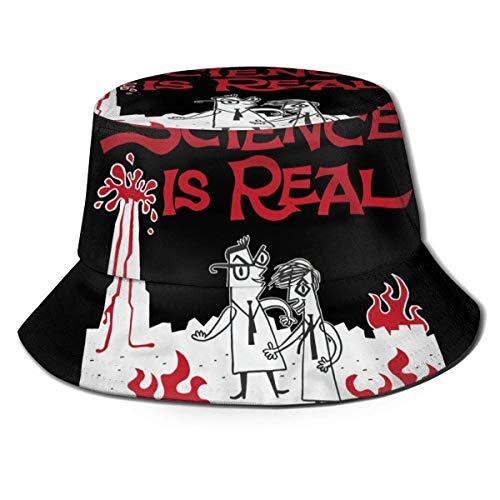 LianLiYa They Might Be GiantsFisherman Hat Unisex Outdoor Casual Printed Fisherman Hat Travel Bucket Hat Beach Hat Black