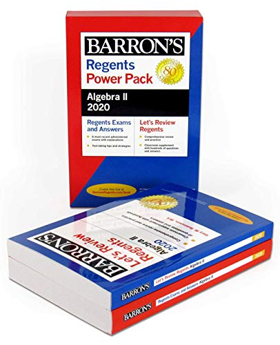 Regents Algebra II Power Pack 2020 (Barron's Regents NY)