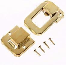 SSB-JIAJUPJ, 1 Stuk Antieke Box Latches Decoratieve Lade Haspe Sieraden gemaakt Houten Box Koffer Haspe Latch Toggle Met s...