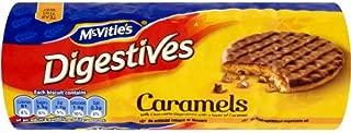 Mcvities Milk Chocolate Caramel Digestives 267g (Pack of 2)