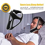 Resmed Cpap Supplies Chin Straps, Anti Snore Snoring Chin Strap Devices For Men