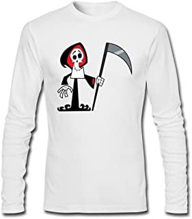 ZHENGXING Men's The Grim Adventures of Billy & Mandy Long Sleeve T-shirt