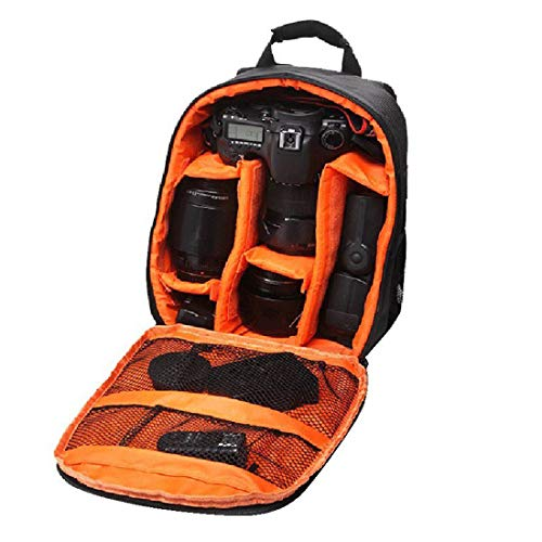 Priyam® New Series Waterproof DSLR Backpack Shoulder Camera Bag, Lens Accessories Carry Case for All Camera Bags & Others-Made in India