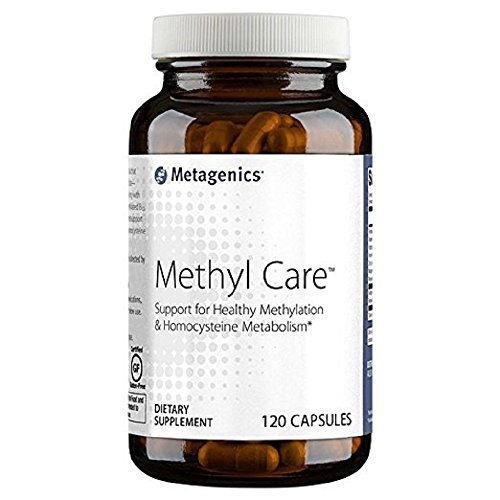 Metagenics Methyl Care (Formerly called Metagenics Vessel Care) Supplement, 120 Count (120)