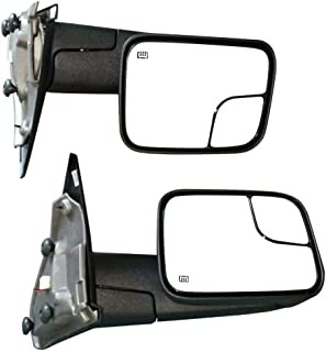 Sponsored Ad - Tow Mirrors Power Heated Led Signals Pair for Dodge Ram 1500 2500 3500