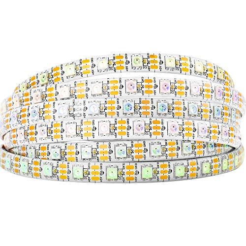 Amazon.de - WS2812B 5M 60 LEDs/Pixels/m 300LEDs RGB addressable 5050 SMD LEDs Waterproof