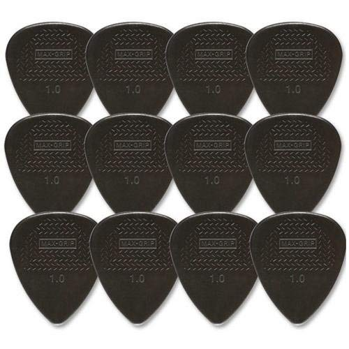 Dunlop DL P 0002 449P1.00 Nylon Max Grip Std Players Pack (12 Stück)