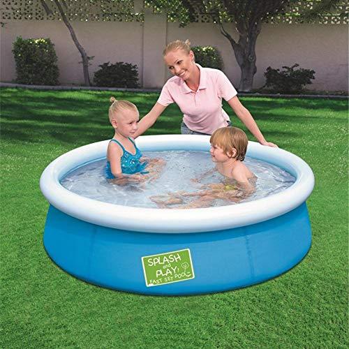 KiGoing Fast Set Pool,Quick Up Pool Familienpool – 152 X 38 cm,Aufblasbarer Pool Anti-Exposure Safe Splash Pad Großes Wasserspielzeug Für Kinder Erwachsene