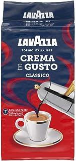 Lavazza Crema E Gusto Ground Coffee, Dark Roast, 250 g