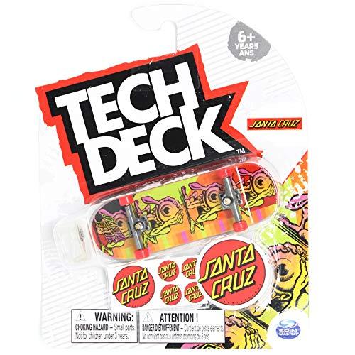 Tech-Deck Santa Cruz Skateboards Afterglow Eyegore Rare 2020 Complete 96mm Fingerboard
