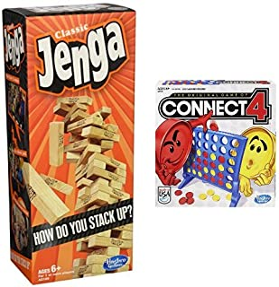 Amazoncom Jenga Stacking Games Games Toys Games