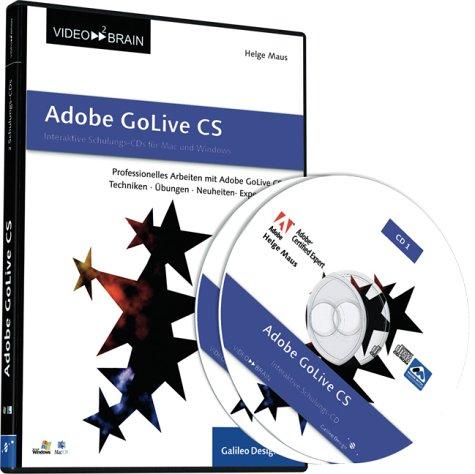 Adobe GoLive CS - Schulungs-CD (PC+MAC)