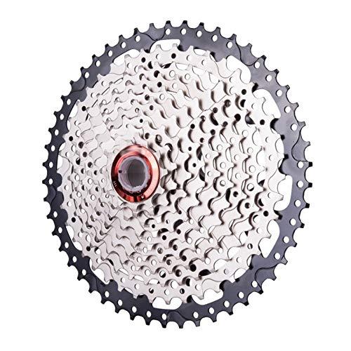 BGGPX MTB Mountain Bike Freewheel 10 Velocidad 11-50T Parrockets de Cassette Relojes Flywheel/Fit para Piezas de Bicicleta/Ajuste para XT SLX XO X0 X9 X7 X7 (Color : 10S 50TL)