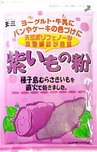 こなやの底力 紫いもの粉 100g
