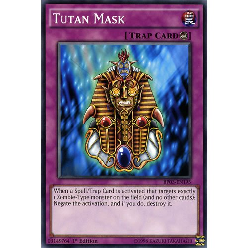 BP03-EN195 Unlimited Ed Tutan Maske Common Card Battle Pack 3 Monster League Yu-Gi-Oh Einzelkarte