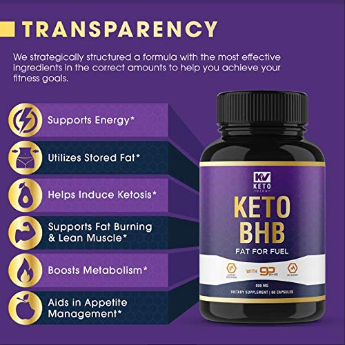 Extra Strength Keto Diet Pills for Men & Women; Ketosis Supported Fat Burn Formulated with Keto BHB; 30 Servings 7