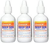 Major Pharmaceuticals Deep Sea Generic for Ocean Nasal Moisturizing Spray 1.5 Fl Oz, Pack of 3