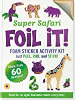 Safari Adventure Foil It! Foam Sticker Activity Kit