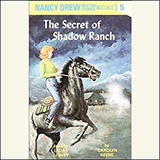 The Secret of Shadow Ranch audiobook cover art