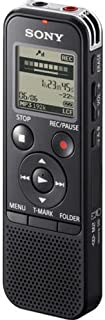 Gravador e Reprodutor de Voz - Sony Digital Voice Recorder 4GB - ICD-PX240