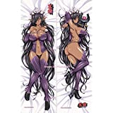 MISAKI1987 Kuroinu Olga Discordia Anime Girl Dakimakura Hugging Body Pillow Cover Case 150cm X 50cm Peach Skin